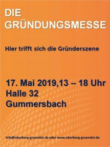 Gründungsnetzwerk Oberberg - Gründungsmesse 2019 Gummersbach